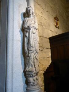 Virgen Anunciación al norte entrada
