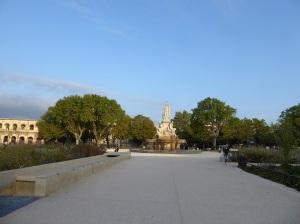 022-nimes-explanada-ch-de-gaulle-y-fontaine-pradier