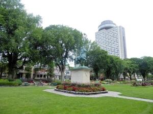 232. Quebec. Llanuras de Abraham. Estatua Juan de Arco