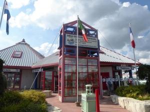 552. Estación de helicópteros para sobrevolar las cataratas del Niágara
