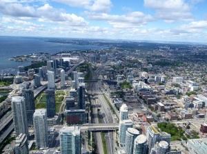 608. Toronto desde la CN Tower