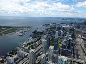 613. Toronto desde la CN Tower