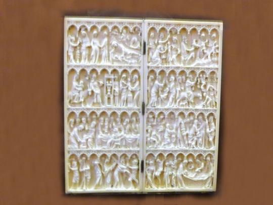 436-museo-calouste-gulbenkian-diptico-con-escenas-de-la-vida-y-pasion-de-cristo-1350-1375