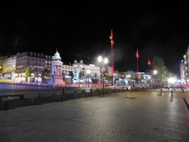 007. Clermont-Ferrand. Plaza de Aude