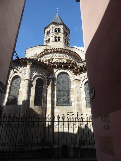 071. Clermont-Ferrand. Notre Dame du Port. Cabecera