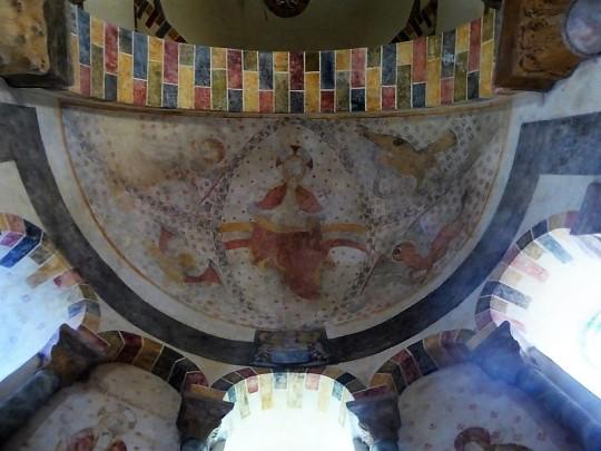 198. Biozat. San Sinforiano. Pinturas de la cabecera