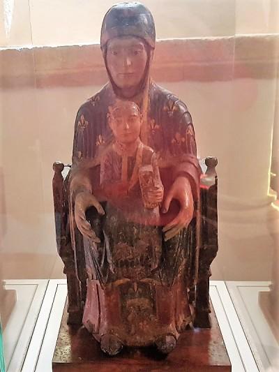 319. Saint Nectaire. Virgen de Mont Cornadore