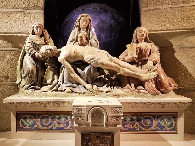 364. Saint Saturnin. Ntra. Sra. Cripta. Piedad. Fines del XV.
