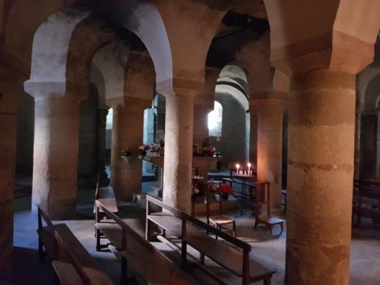 393. Issoire. St-Austremoine. Cripta