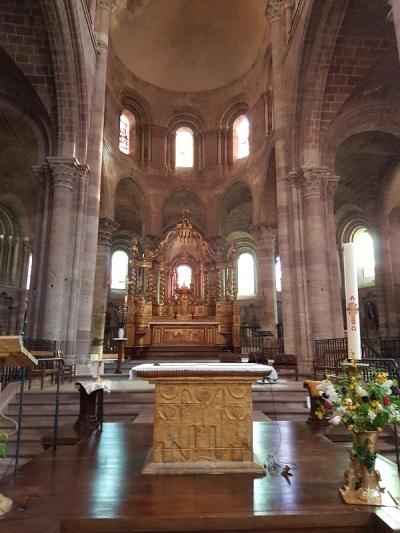 454. Brioude. St-Julien. Coro
