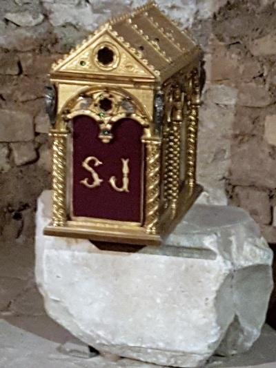 469. Brioude. St-Julien. Cripta. Relicario de St-Julien