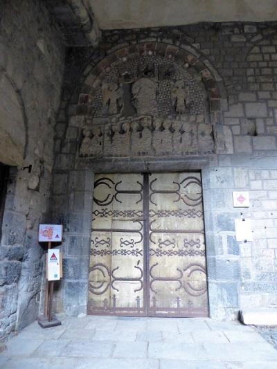 650. Le-Puy-en-Velay. Catedral. Porche de San Juan