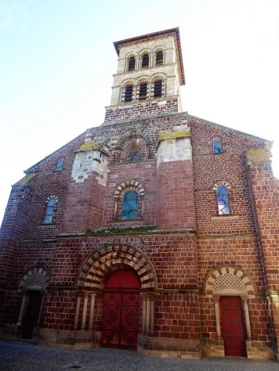 424. Brioude. St Julien. Fachada oeste