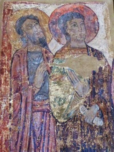 443. Brioude. St-Julien. Pilar de los Profetas