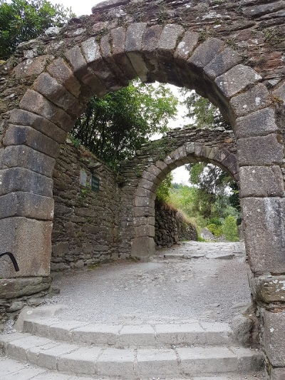 785. Glendalough. La puerta