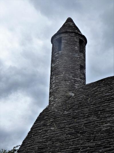 801. Glendalough. San Kevin. Torreta