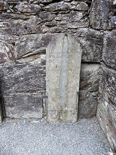 820. Glendalough. Catedral