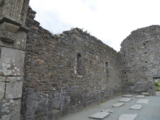 827. Glendalough. Catedral. Muro sur