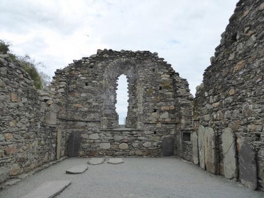 829. Glendalough. Catedral