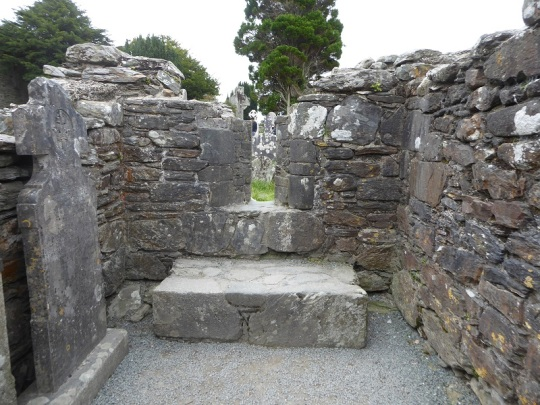 832. Glendalough. Casa del Prior. Interior
