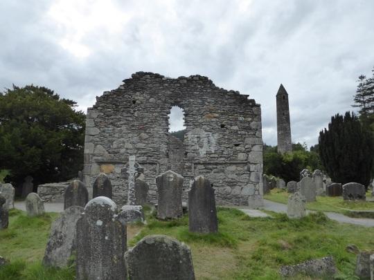 844. Glendalough. Catedral