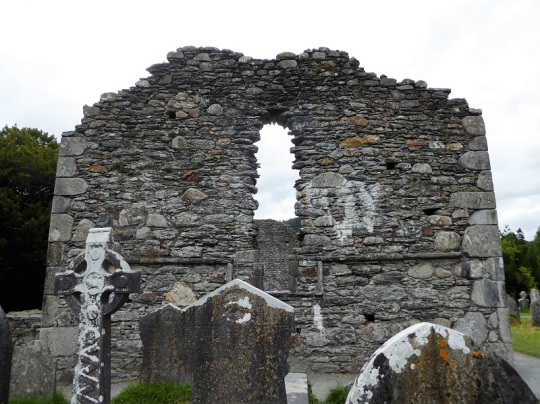 845. Glendalough. Catedral