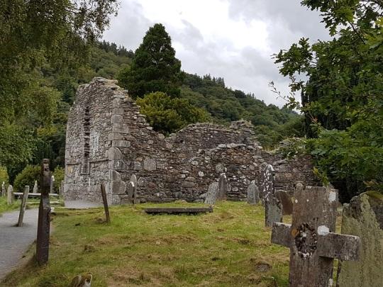 859. Glendalough. Catedral