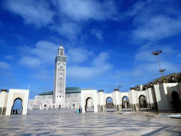 126. Casablanca. Mezquita de Hassán II