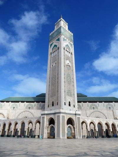 129. Casablanca. Mezquita de Hassán II
