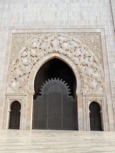 134. Casablanca. Mezquita de Hassán II