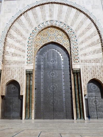 136. Casablanca. Mezquita de Hassán II