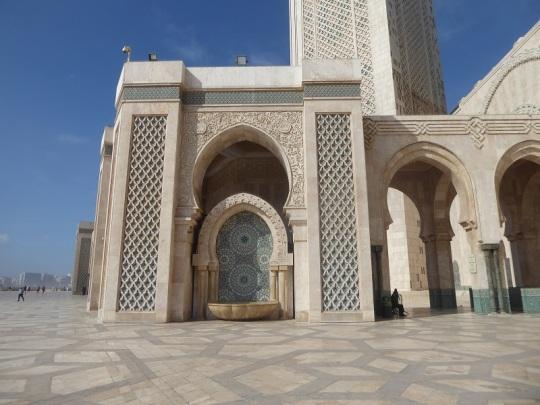 140. Casablanca. Mezquita de Hassán II