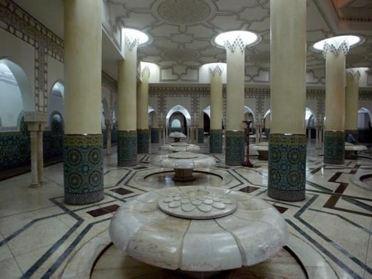 141. Casablanca. Mezquita. Baños