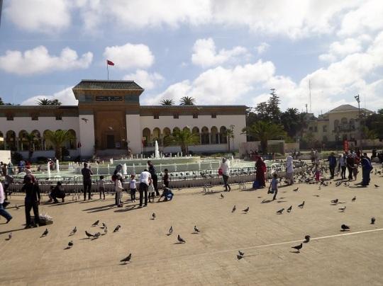 144. Casablanca. Plaza Mohamed VI