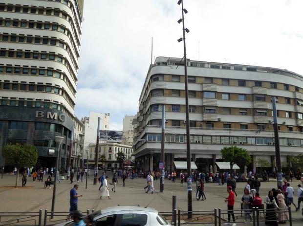 151. Casablanca. Plaza de las Naciones Unidas