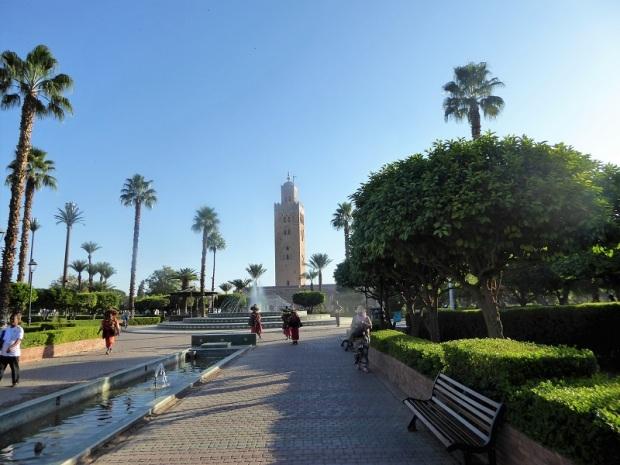 186. Marrakech. Jardines de la Kotubiya