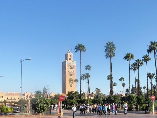 188. Marrakech. Jardines de la Kotubiya