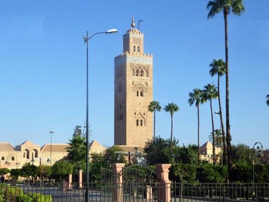 191. Marrakech. Jardines de la Kotubiya