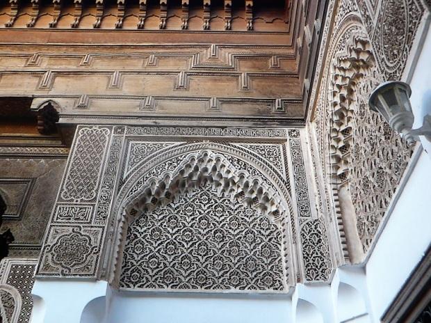 199. Marrakech. Palacio de la Bahía