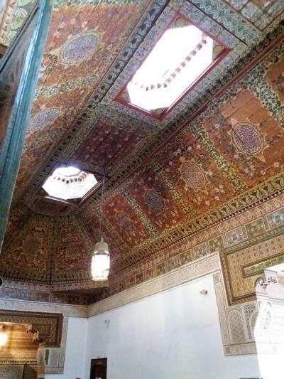 203. Marrakech. Palacio de la Bahía