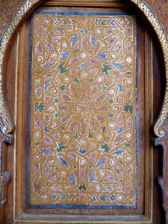 209. Marrakech. Palacio de la Bahía