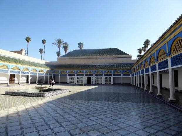 214. Marrakech. Palacio de la Bahía