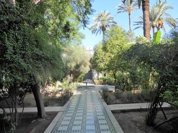 219. Marrakech. Palacio de la Bahía
