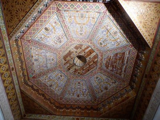 220. Marrakech. Palacio de la Bahía