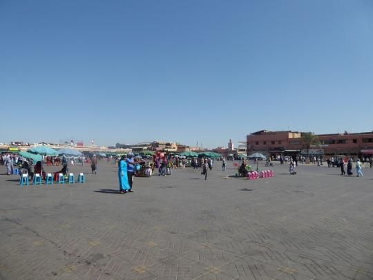 256. Marrakech. Plaza de Jamaa el Fna