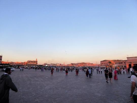 266. Marrakech. Plaza de Jamaa el Fna