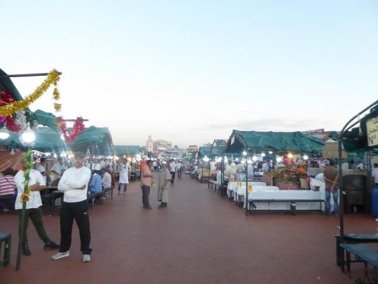 270. Marrakech. Plaza de Jamaa el Fna