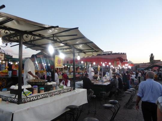 271. Marrakech. Plaza de Jamaa el Fna
