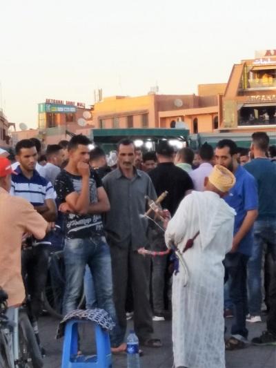 277. Marrakech. Plaza de Jamaa el Fna
