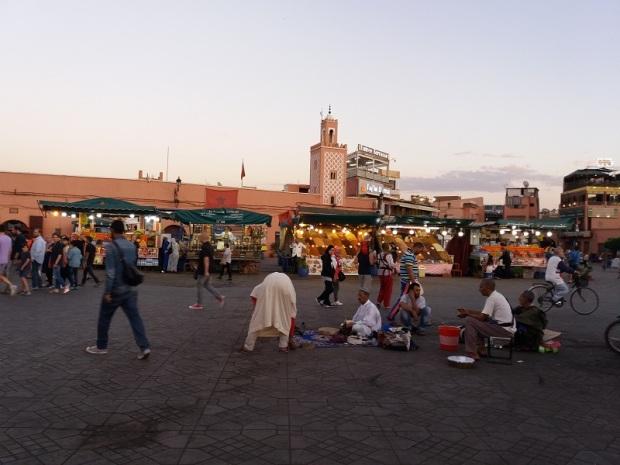 280. Marrakech. Plaza de Jamaa el Fna